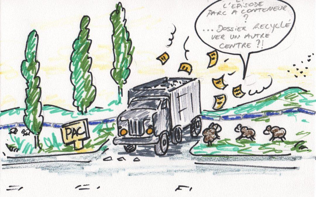Parc à containers de Bois-de-Villers: l'heure des choix